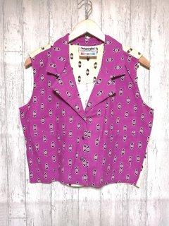 wrangler ラングラー 襟付きベスト/F パープル 紫
