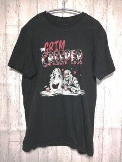 古着 RVCA Tシャツ /M black 黒