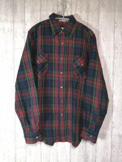 woolrich ウール混長袖シャツ タータンチェック/M