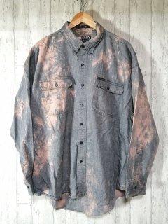 CHAPS RALPH LAUREN ブリーチシャツ ヘリンボーン XXL オーバーサイズ ビッグシャツ