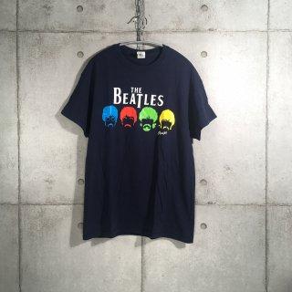 THE BEATLES Tシャツ ネイビー M ビートルズ GILDAN