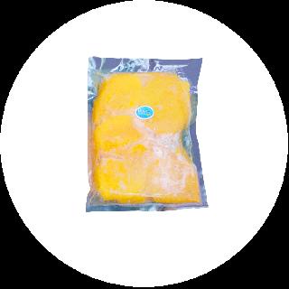 【送料込み/業務用】冷凍完熟マンゴー500g (真空冷凍パック)