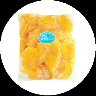 【送料込み/業務用】冷凍完熟マンゴー1kg (真空冷凍パック)