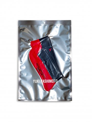 PROJECT SUPPLY SOCKS RED X NAVY