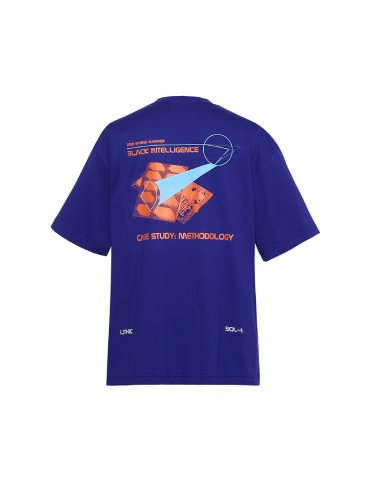 METHOLOGY GRAPHIC T-SHIRT BLUE