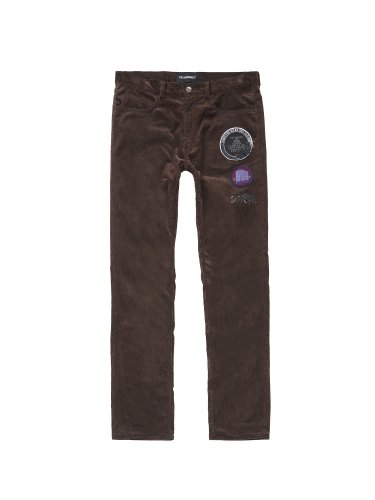 PATCHED 5-POCKETS PANTS BROWN