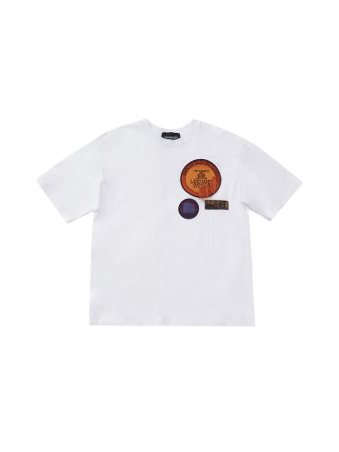 PATCHED T-SHIRTS WHITE