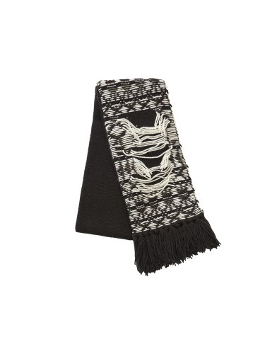 INSIDEOUT WAREHOUSE PATTERN SCARF BROWN