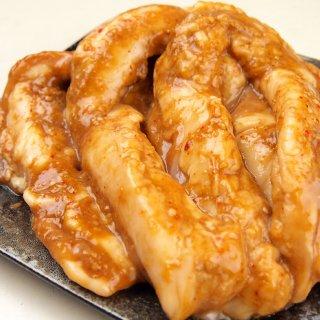 国産牛小腸 ロングカット 味噌漬 ホルモン 500g