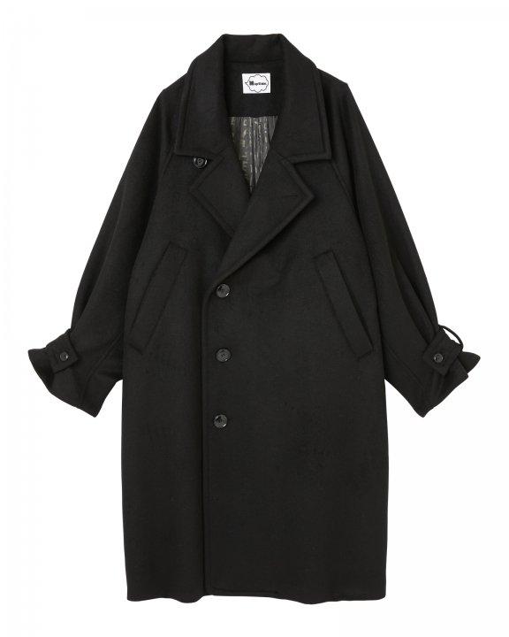 LONG COAT-BLACK