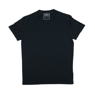giza cotton t-shirt BLACK