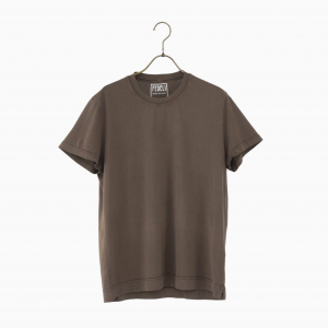 giza cotton t-shirt BROWN