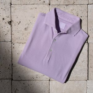 cotton polo shirt PINK