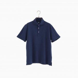 cotton polo shirt BLUE