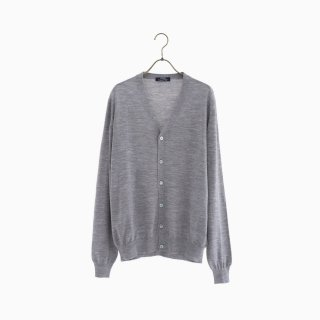 lana140 wool cardigan GREY