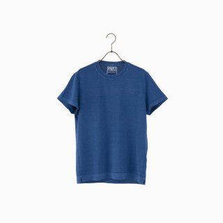 giza cotton t-shirt INDIGO