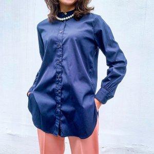 BAGUTTA per Rita band color shirt navy