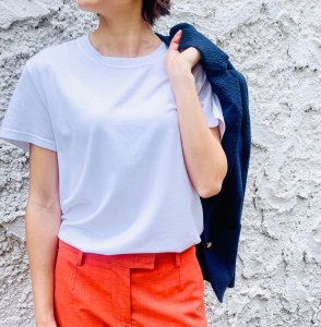 FEDELI organic cotton T-Shirt white