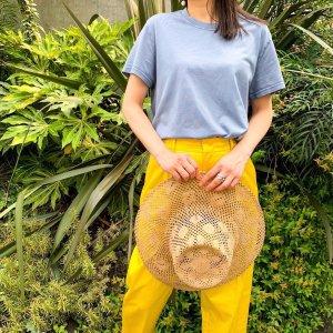 FEDELI organic cotton T-Shirt bluegray