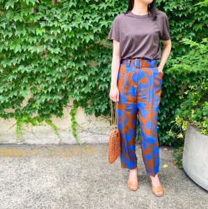 FEDELI organic cotton T-Shirt brown