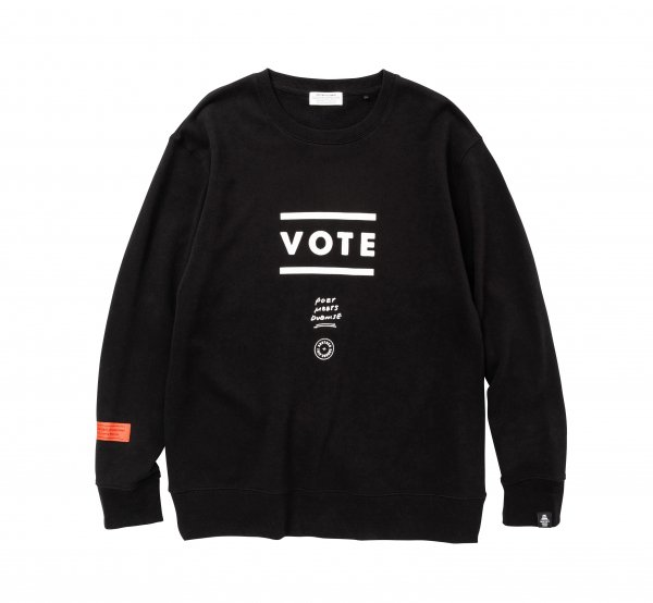 VOTE Sweat<img class='new_mark_img2' src='https://img.shop-pro.jp/img/new/icons8.gif' style='border:none;display:inline;margin:0px;padding:0px;width:auto;' />