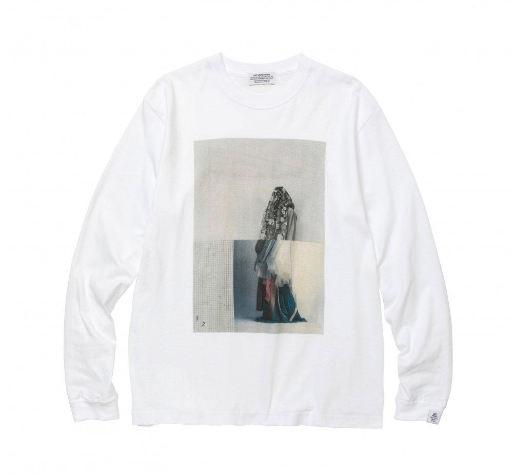 Killiman Jah Low Works Collage 2 Inkjet Long Sleeve T-shirt