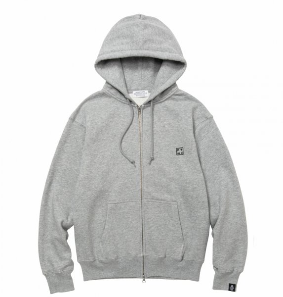 PMD+ Embroidery Heavy Weight Zip Hoodie