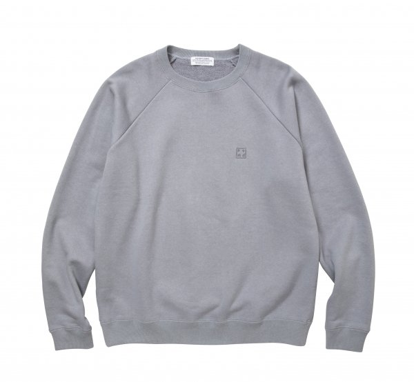 PMD+ Embroidery GROUNDED Loose Fit Raglan Sweat