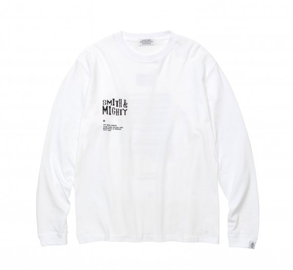 Smith&Mighty Long Sleeve T-Shirt<img class='new_mark_img2' src='https://img.shop-pro.jp/img/new/icons8.gif' style='border:none;display:inline;margin:0px;padding:0px;width:auto;' />
