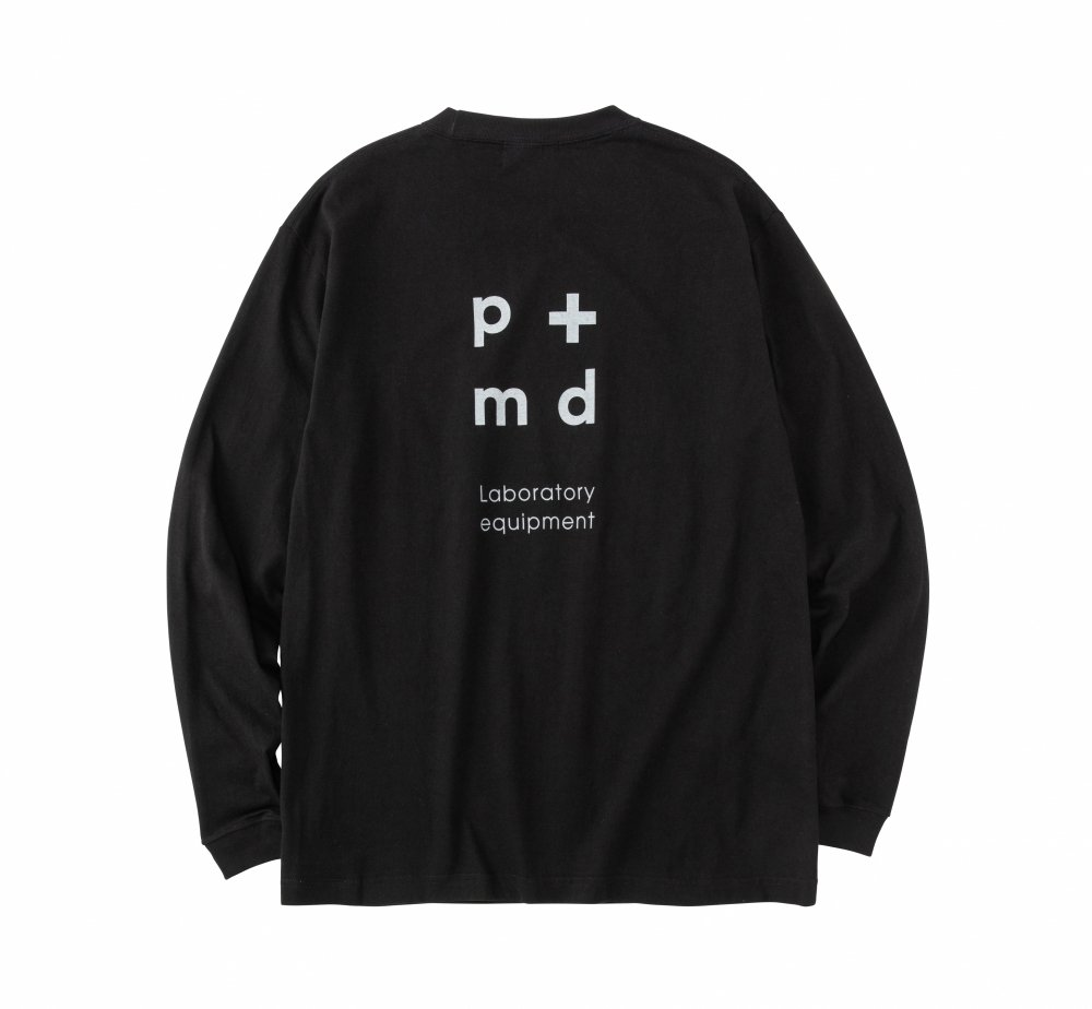 PMD+LAB Emblem Long Sleeve T Shirt<img class='new_mark_img2' src='https://img.shop-pro.jp/img/new/icons8.gif' style='border:none;display:inline;margin:0px;padding:0px;width:auto;' />