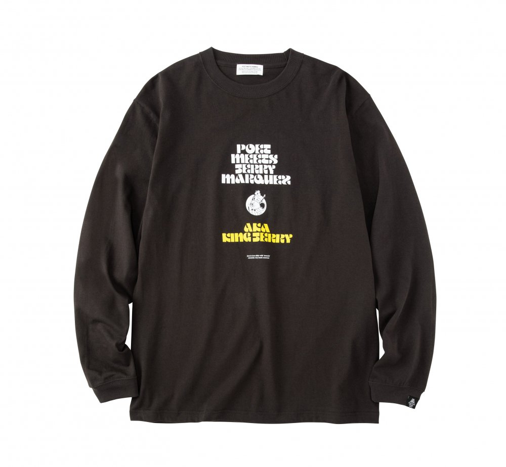 KING JERRY Long Sleeve T-Shirt<img class='new_mark_img2' src='https://img.shop-pro.jp/img/new/icons8.gif' style='border:none;display:inline;margin:0px;padding:0px;width:auto;' />