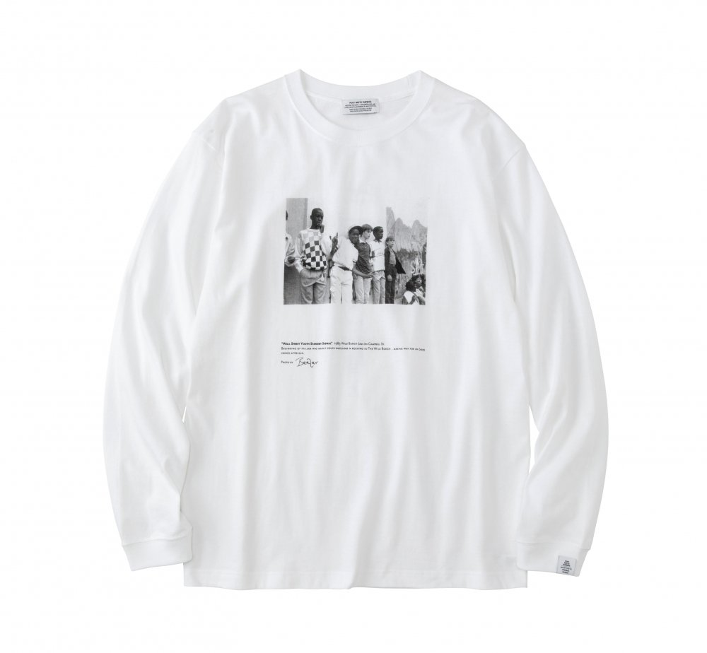 WALL STREET YOUTH Long Sleeve T-Shirt<img class='new_mark_img2' src='https://img.shop-pro.jp/img/new/icons8.gif' style='border:none;display:inline;margin:0px;padding:0px;width:auto;' />