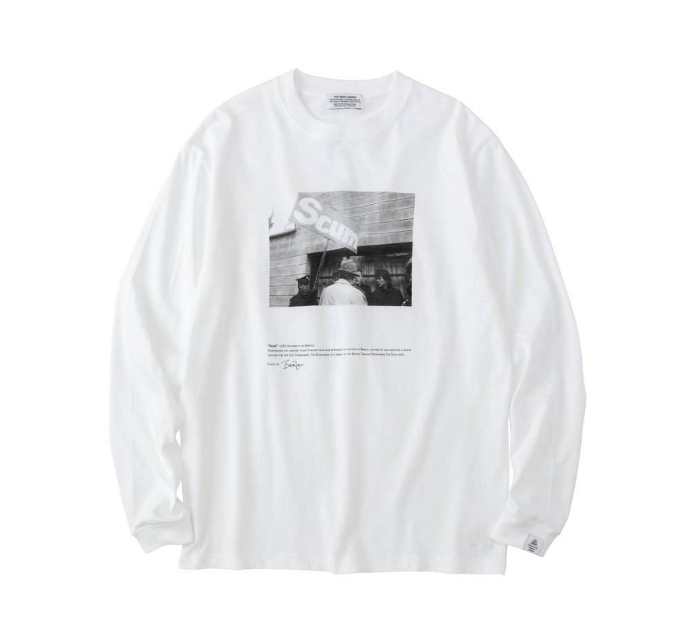 SCUM Long Sleeve T-Shirt<img class='new_mark_img2' src='https://img.shop-pro.jp/img/new/icons8.gif' style='border:none;display:inline;margin:0px;padding:0px;width:auto;' />
