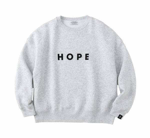 HOPE Oversized Sweat<img class='new_mark_img2' src='https://img.shop-pro.jp/img/new/icons8.gif' style='border:none;display:inline;margin:0px;padding:0px;width:auto;' />