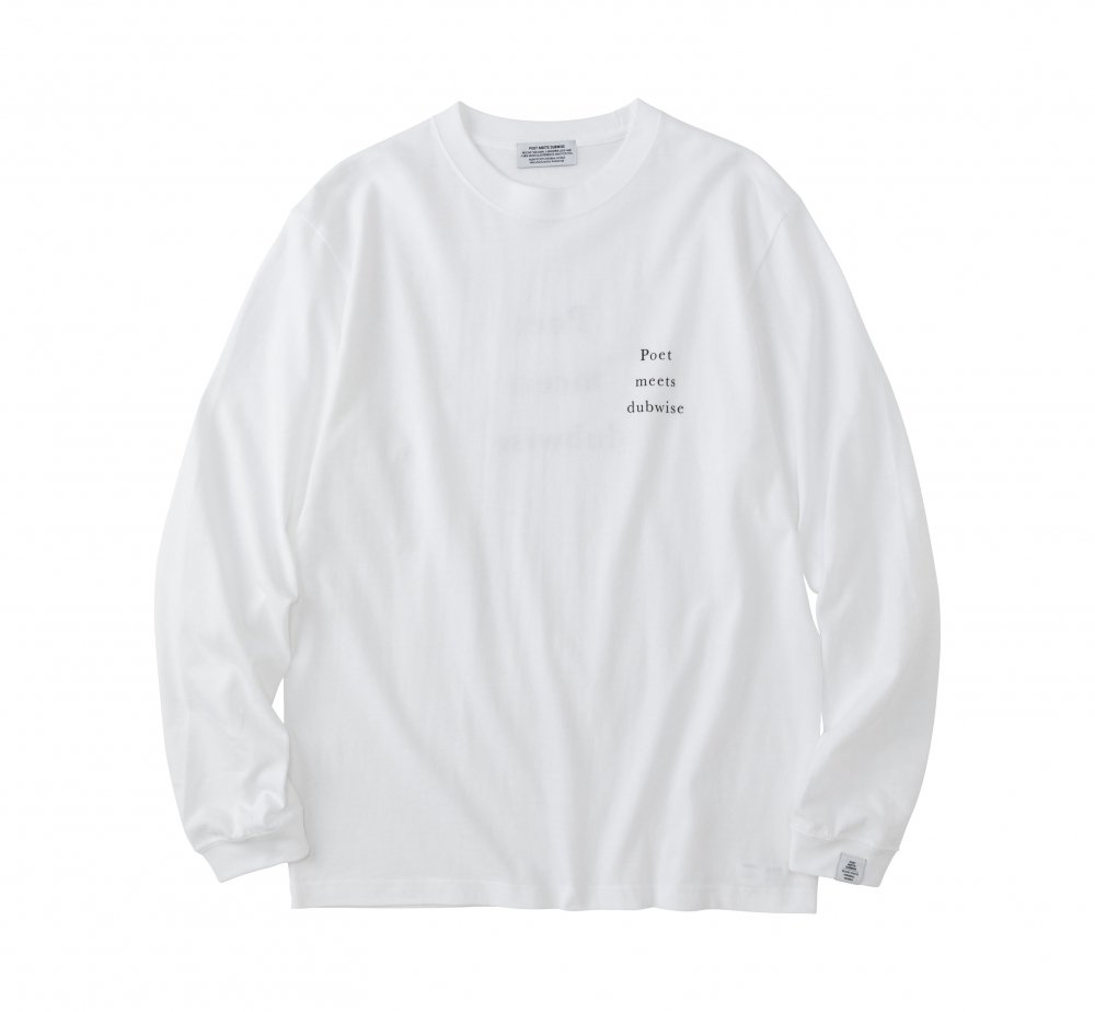 PMD OP LOGO Long Sleeve T Shirt [web限定]<img class='new_mark_img2' src='https://img.shop-pro.jp/img/new/icons8.gif' style='border:none;display:inline;margin:0px;padding:0px;width:auto;' />