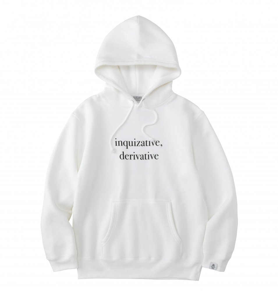 INQUIZATIVE Hoodie<img class='new_mark_img2' src='https://img.shop-pro.jp/img/new/icons8.gif' style='border:none;display:inline;margin:0px;padding:0px;width:auto;' />