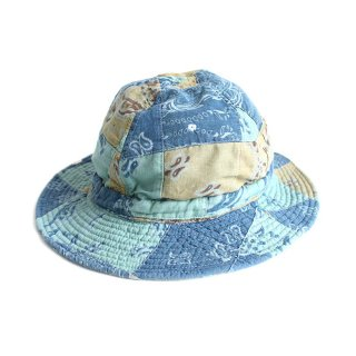 PATCHWORK HUNTER HAT