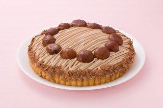 切れてて便利 マロンケーキ 12カット