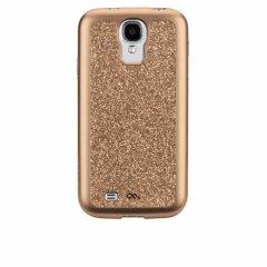 【キラキラと輝く美しいケース】 Galaxy S4 SC-04E Glam Case Rose Gold