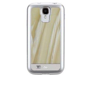 【象牙調の背面が高級感を醸し出すケース】 Galaxy S4 SC-04E Crafted Case Acetates White Horn