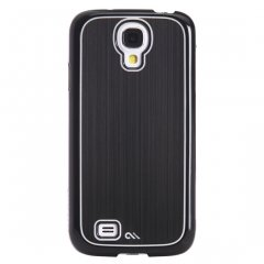 Case-Mate  スマートフォン ケース (Galaxy S4) ハード スマホケース カバー【金属調のハードケース】 Aluminum Black