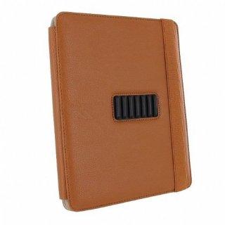 【横開きブックスタイルケース】 iPad 2〜4世代 Versant Leather Folio Stand Case Brown