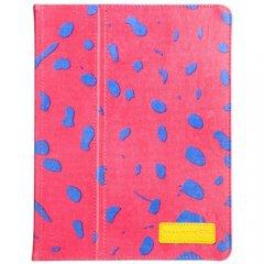 【キャンバスを使用したブックスタイルケース】 iPad 2〜4世代 Slim Stand Canvas Pink Ocelot