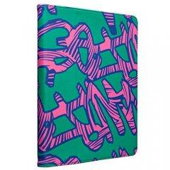 【キャンバスを使用したブックスタイルケース】 iPad 2〜4世代 Slim Stand Printed Graffiti