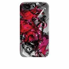 【衝撃に強いデザインケース】 iPhone 4S/4 Hybrid Tough Case Destroy
