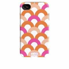 【衝撃に強いデザインケース】 iPhone 4S/4 Hybrid Tough Case Clairebella - Fiesta Scoop