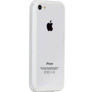 【iPhone5c ケース さりげなく守るフレームスタイル】 iPhone 5c Hula White フレームスタイルケース