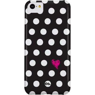 【かわいい水玉模様のハードケース】 iPhone 5c Barely There Prints Case Polka Love