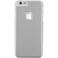 【iPhone6s/6 ケース 薄型で全体を覆うタイプ】 iPhone6s/6 Zero Case Silver ゼロケース シルバー