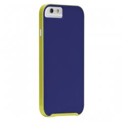 【iPhone6s/6 ケース デュアルレイヤーでスリム】 iPhone6s/6 Slim Tough Case Blue / Chartreuse Green スリム タフ ケース